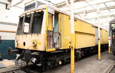 Class 121 DMU 960302/977975 (55027) seen at Barry Tourist Railway   14/06/14
