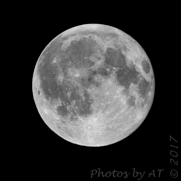 Moon <br /> Crop 500mm+1.4x<br /> 2017-08-08 00:14:20