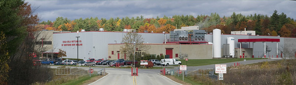 Coca-Cola Plant in Londonderry, New Hampshire -  The plant, and it's 78 plus acres, are worth an estimated 21 million dollars.