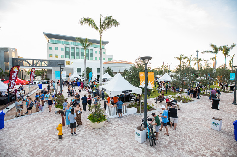 Unplugged event in Downtown Coral Springs
