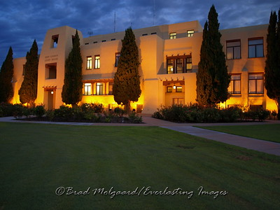"""Court House Twilight"""