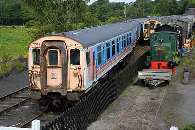 EMU Class 412 2311 with 70539, 70607, 61804, 61805  26/07/14.