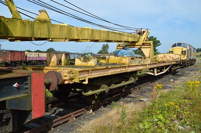 Ex SR EMU Coach now a Crane Runner DS70281  26/07/14.
