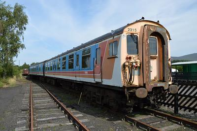 EMU Class 412 2315 with 70354. 61798, 61799, 70229  26/07/14.