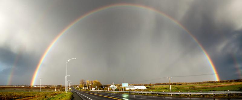 Double Rainbows
