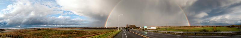 Autoroute 55 en direction de Trois-Rivières. Avant la pendaison de crémaillère de Marie-Michelle.