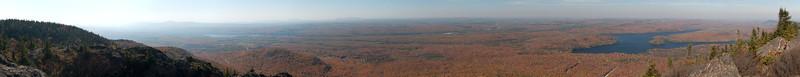 Pic de l'ours - sentier des crêtes - Parc national du Mont Orford