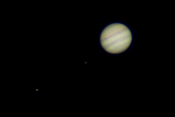 Jupiter Up Close with Io transit