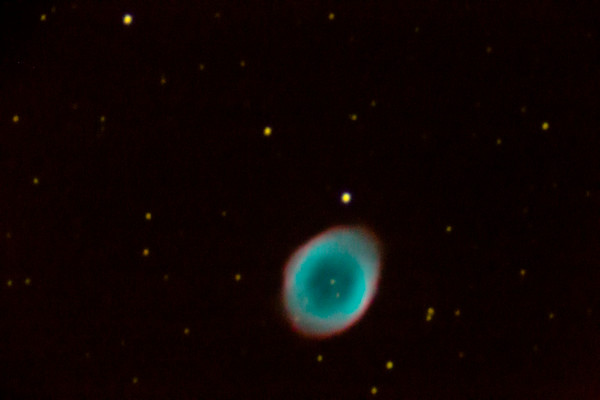 M57 - Ring Nebula - Unedited single exposure