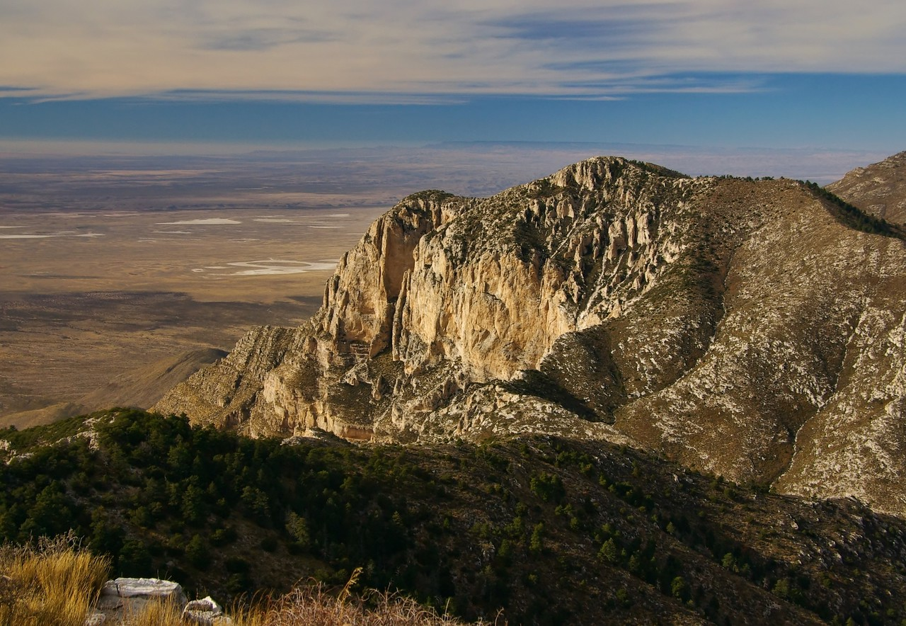 from Guadalupe Peak summit