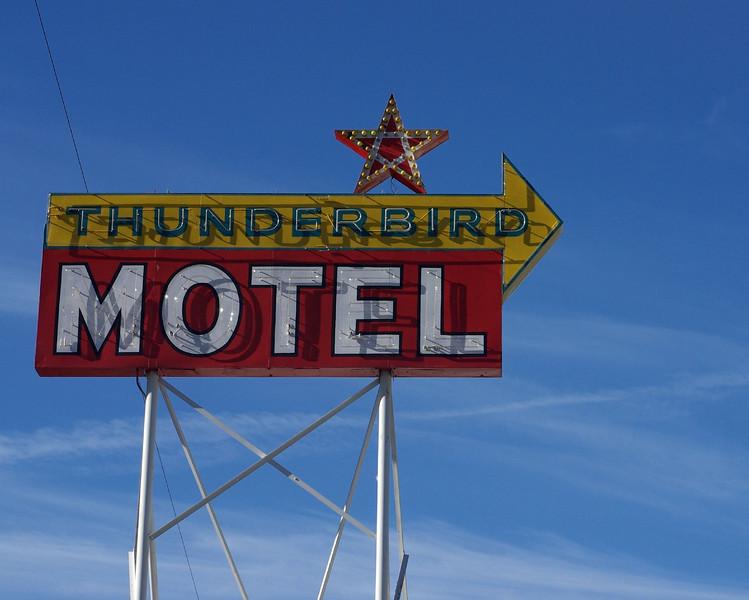 Thunderbird, Bishop, California