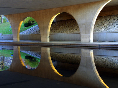 under the parkway