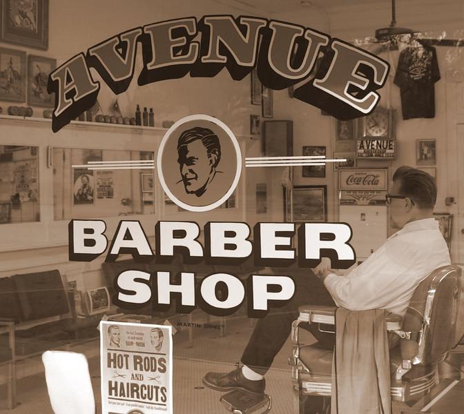 avenue barber