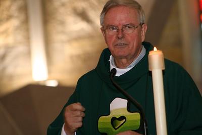 Fr. John van den Hengel, general councilor, gave the opening homily.