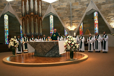 The opening Mass.