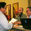 Fr. Jack Kurps, Fr. Greg Murray and Br. Frank Presto
