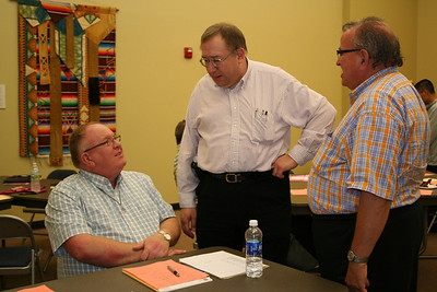 Dn. David Nagel, Fr. Rob Naglich and Fr. Yvon Sheehy