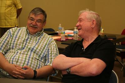 Br. Frank Snider and Fr. Bernard Rosinski