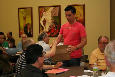 Collecting ballots