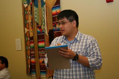 Novice Joseph Vu gets the vote count