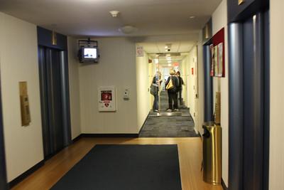 Elevator Banks 4th Fl