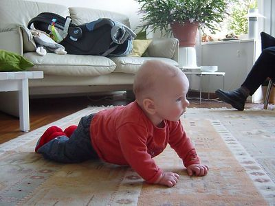 Look! I am going to crawl