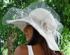 Strawberry Fields - Hats and Headpieces handcrafted by http/www.elishacaplan.com/