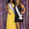 2017 Miss Nya Scott and 2016 Miss Arielle Kowaleski poss for a photo after crowning.