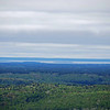 Closer view of Manitoulin Island.