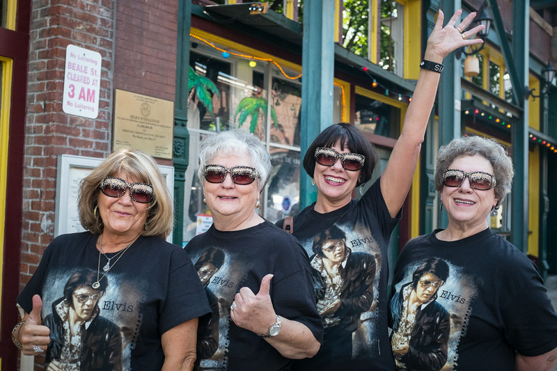 Elvis fans from Louisiana--they have come to every Elvis Week.