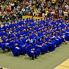Members of the 2013 graduating class of Elwood High School.