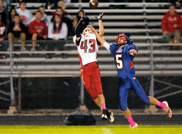 Don Knight/The Herald Bulletin<br /> Elwood hosted Frankton on Friday.