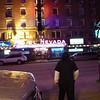 Drunken Indian crossing Aultman Street, Ely
