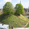Oxford Castle - Unlocked, The mound, a 11th century feature of a former motte and bailey castle