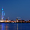 Spinnaker Tower, The iconic Spinnaker Tower at sunset