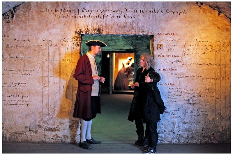 CONTINUUM: Real Mary King's Close, Edinburgh