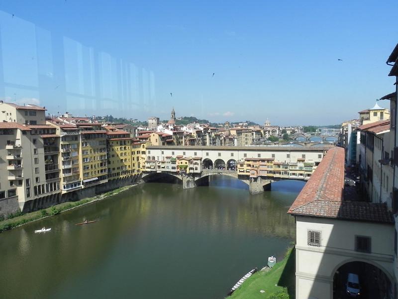 Ponte Vecchio from Uffizi 1