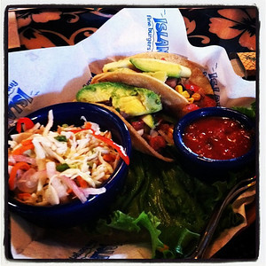 Grilled Veggie Tacos = Yum!