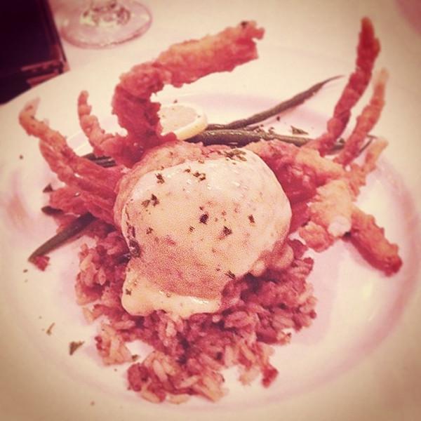 """Hallelujah Crab #latergram via Instagram <a href=""""http://instagram.com/p/hWHhTtx-gS/"""">http://instagram.com/p/hWHhTtx-gS/</a>"""