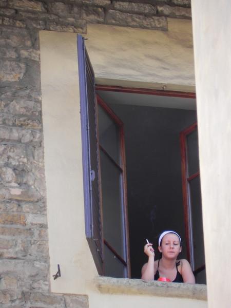 Girl in Window 2