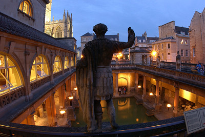 ROMAN BATHS AND PUMP ROOM: Great Bath