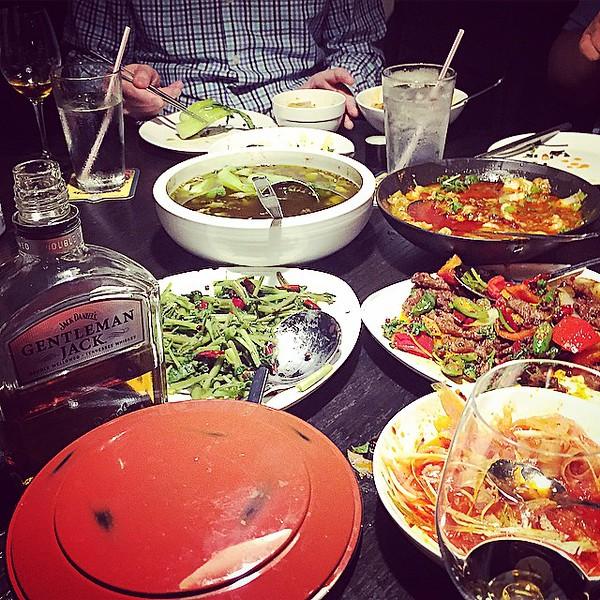 "So did I mention that Malas aromatic chicken is fantastic? via Instagram <a href=""http://ift.tt/1BNecCS"">http://ift.tt/1BNecCS</a>"
