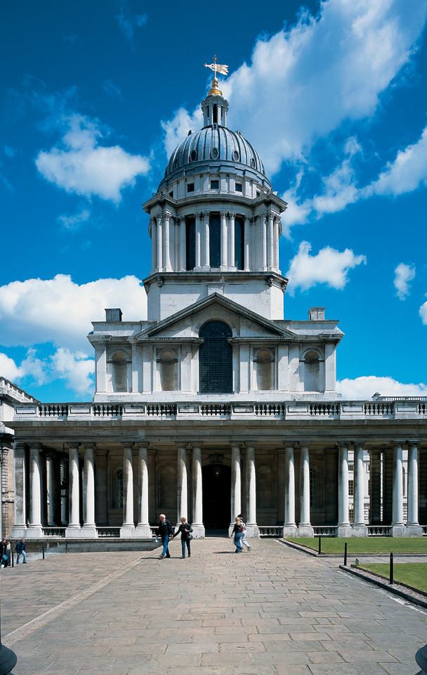 OLD ROYAL NAVAL COLLEGE, Chapel Exterior, ©James Brittain Photography