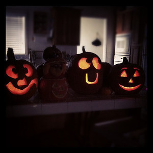 The Joel Family Pumpkins