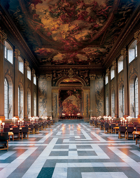 OLD ROYAL NAVAL COLLEGE, The Painted Hall, © James Brittain Photography