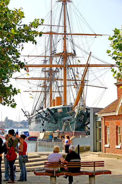PORTSMOUTH HISTORIC DOCKYARD: HMS Warrior 1860