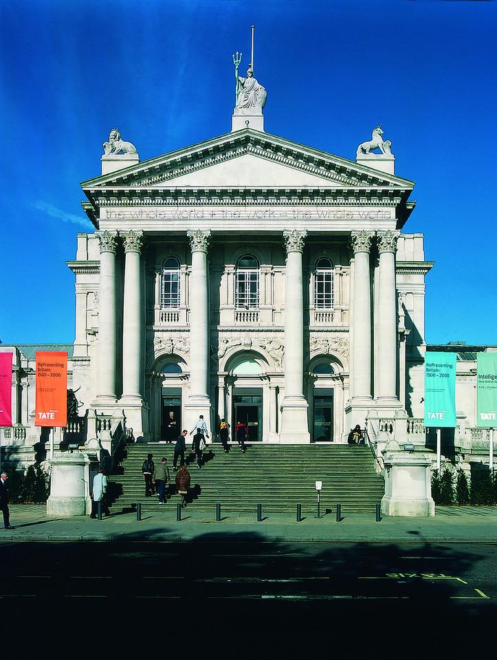 TATE GALLERIES:Tate Britain Exterior