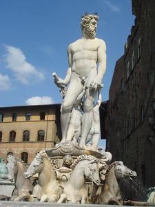 Neptune in Piazza della Signoria