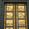 Ghiberti's bronze doors on Babtistery 3