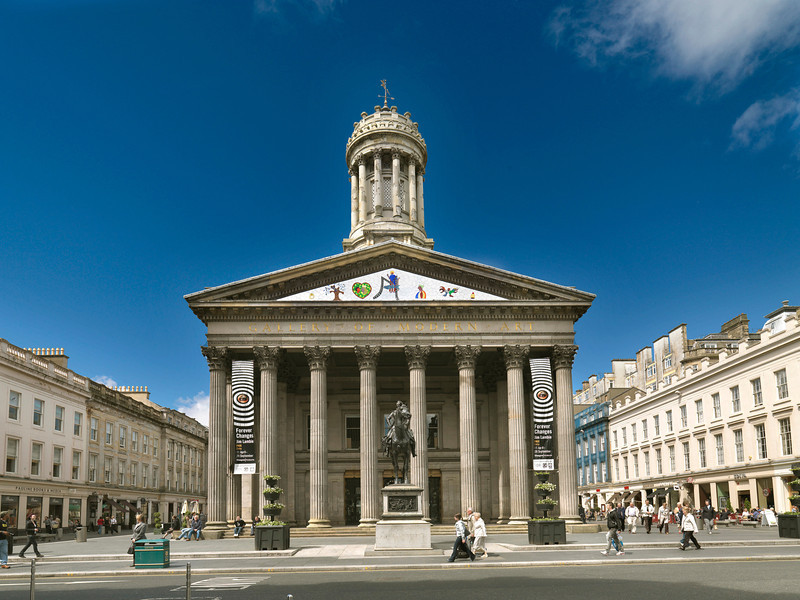 GLASGOW MUSEUMS: Gallery of Modern Art (GoMA) Royal Exchange Square, Glasgow G1 3AH  0141 287 3050